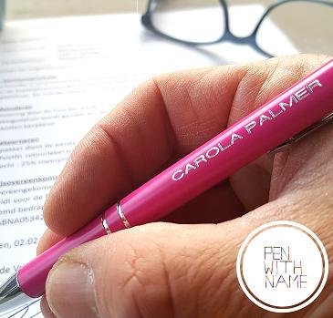 Koop een pen met je naam